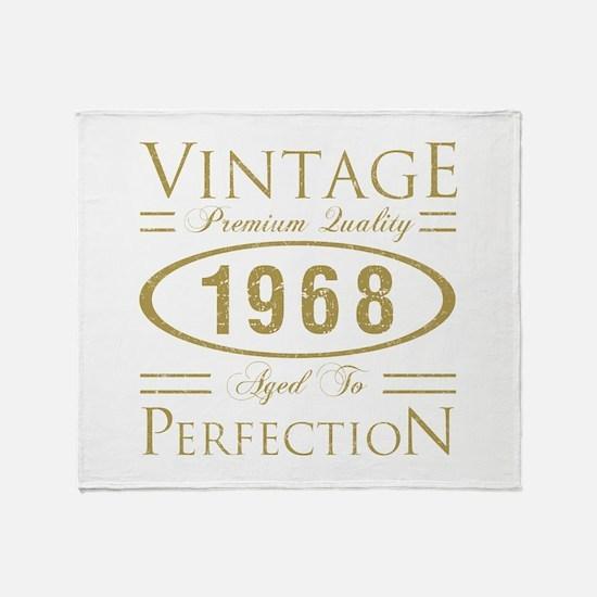 Vintage 1968 Premium Throw Blanket