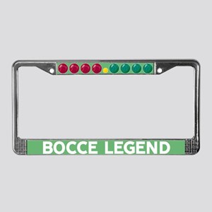 Bocce Balls License Plate Frame