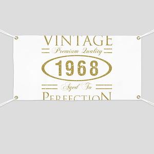 Vintage 1968 Premium Banner