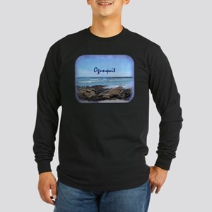 Ogunquit Maine Coastline Long Sleeve T-Shirt