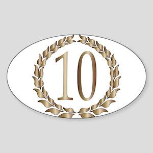 10th Anniversary Sticker