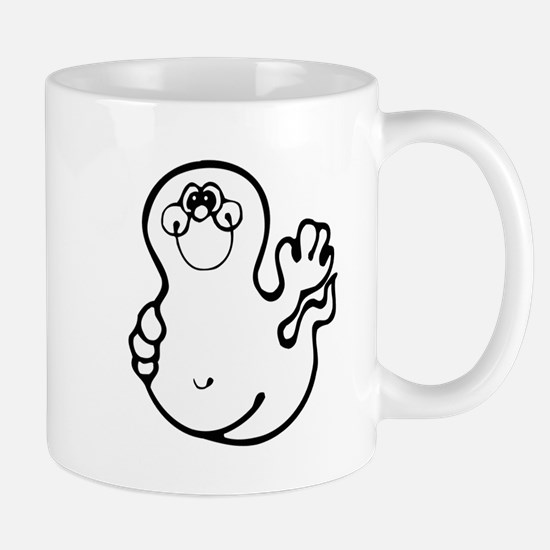 CUTE LITTLE GHOST 3 Mug