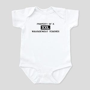 Property of: Management Teach Infant Bodysuit