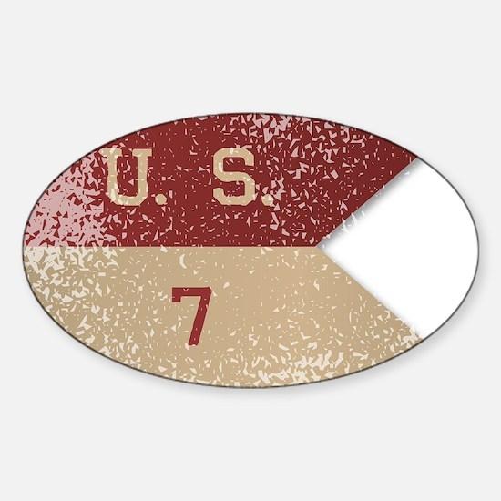 7th Cavalry Flag Decal