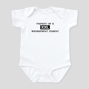 Property of: Management Stude Infant Bodysuit
