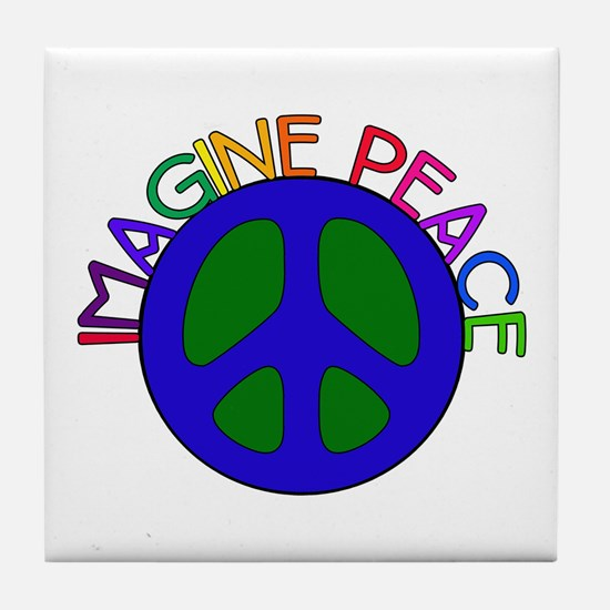 Image Peace Tile Coaster