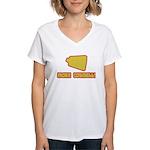 SNL More Cowbell Women's V-Neck T-Shirt
