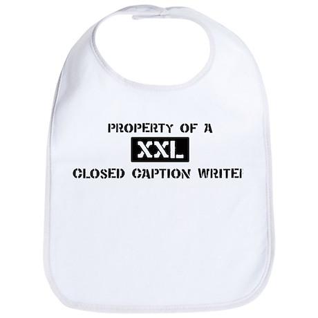 Property of: Closed Caption W Bib