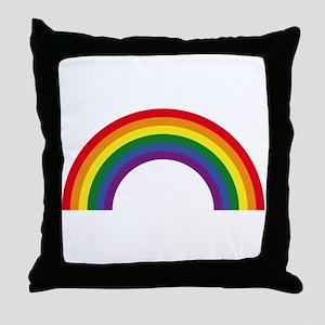 Rainbow / Arc-En-Ciel / Arcoíris (6 C Throw Pillow
