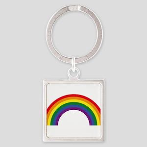 Rainbow / Arc-En-Ciel / Arcoíris (6 Colo Keychains