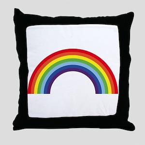 Rainbow / Arc-En-Ciel / Arcoíris (7 C Throw Pillow