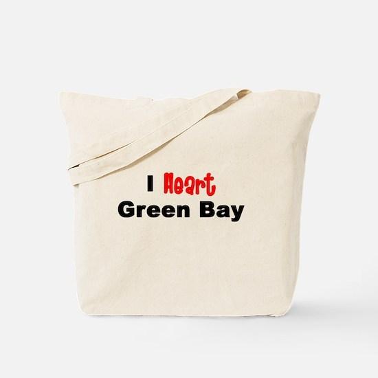 Green Bay.png Tote Bag