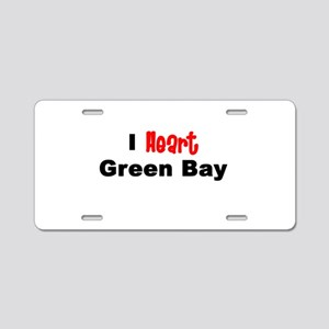 Green Bay Aluminum License Plate