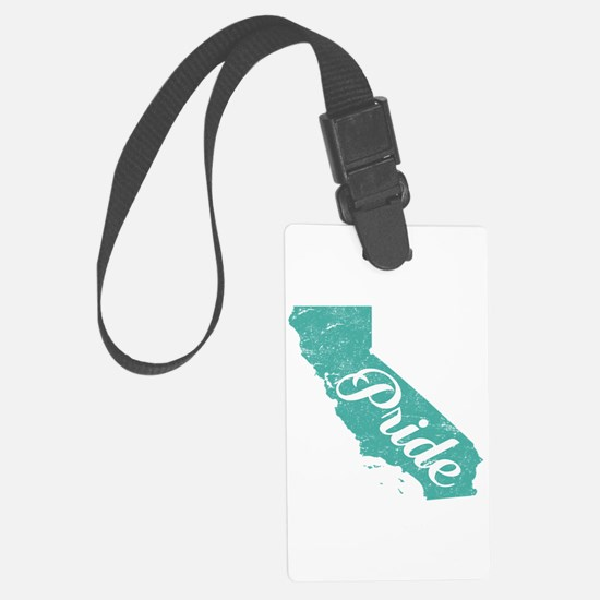 California Pride Luggage Tag