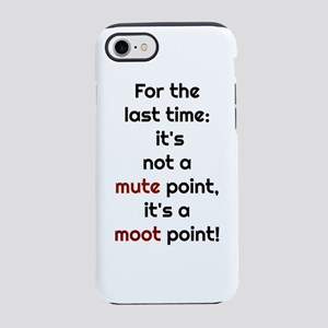 Mute Point iPhone 8/7 Tough Case