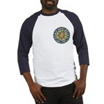 Camp Del-Haven Distressed Patch Baseball Jersey