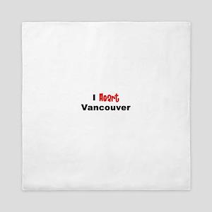 Vancouver Queen Duvet