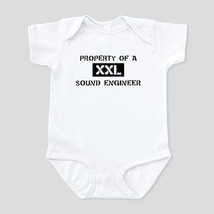 Property of: Sound Engineer Infant Bodysuit