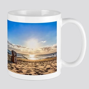 Beach holiday in summer Mugs