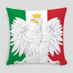 Polish Italian Coat of Arms Everyday Pillow