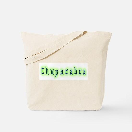 CT-Chupracabra Text Tote Bag