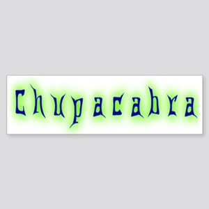 CT-Chupracabra Text Bumper Sticker