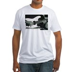 Play Guitar Fitted T-Shirt
