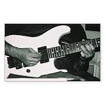 Play Guitar Rectangle Sticker