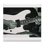 Play Guitar Tile Coaster