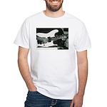Play Guitar White T-Shirt