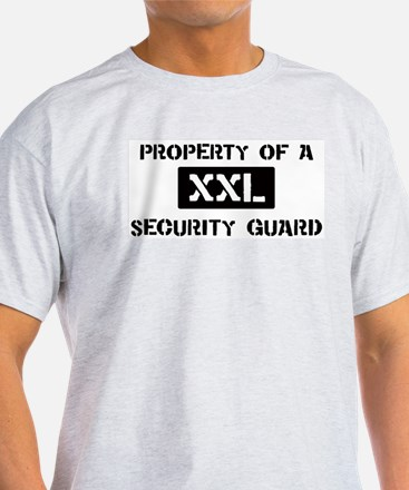 Property of: Security Guard T-Shirt