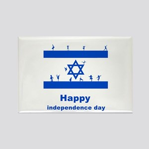 happy independence day Rectangle Magnet