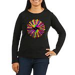 Tumini Notes Women's Long Sleeve Dark T-Shirt