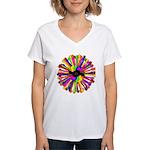 Tumini Notes Women's V-Neck T-Shirt