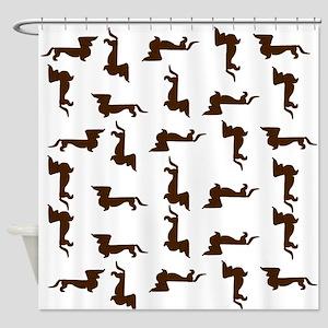 Dachshunds Shower Curtain