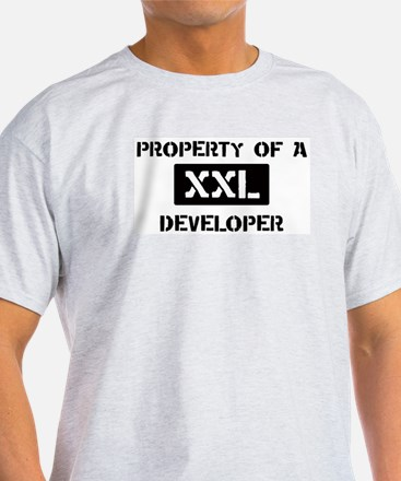Property of: Developer T-Shirt