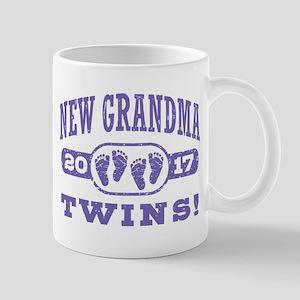 New Grandma Twins 2017 Mug
