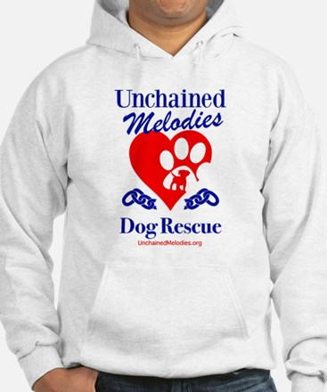 Unchained Melodies Dog Rescue Heart Hoodie
