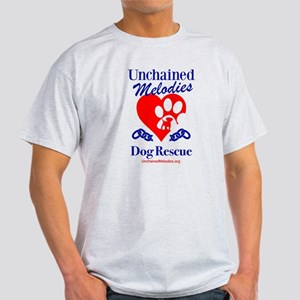 Unchained Melodies Dog Rescue Heart T-Shirt