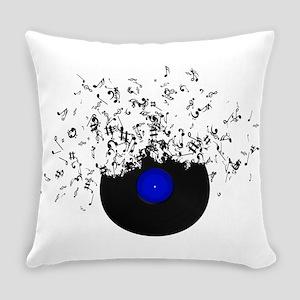 Music Disc Vinyl Everyday Pillow