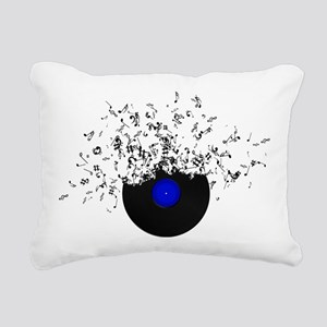 Music Disc Vinyl Rectangular Canvas Pillow