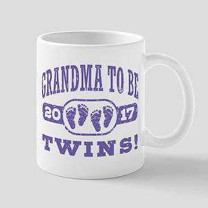 Grandma To Be Twins 2017 Mug