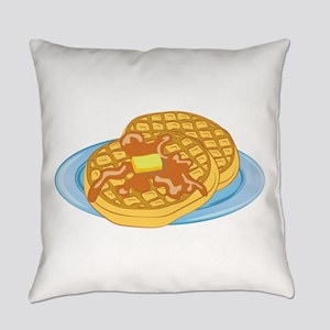 Waffles Everyday Pillow