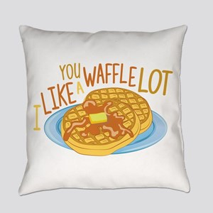 A Waffle Lot Everyday Pillow