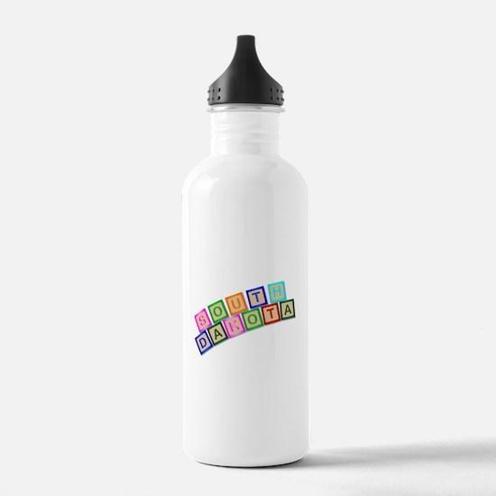 South Dakota Wooden Bl Water Bottle