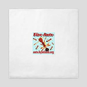 Fire Ants Queen Duvet