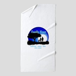 Happy Family Beach Towel
