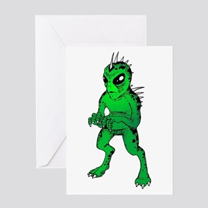 Chupacabras Greeting Card