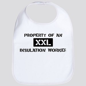 Property of: Insulation Worke Bib