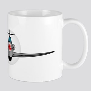 Old Style Fighter Aircraft Mugs